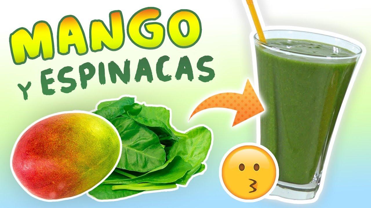 Para peso de bajar mango licuado de