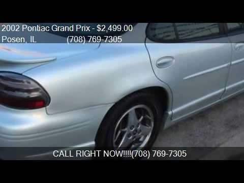 2002 Pontiac Grand Prix GT 4dr Sedan for sale in Posen, IL 6