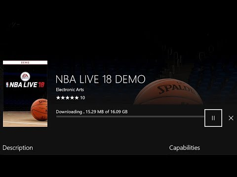 How To Play NBA LIVE 18 Demo Early ⋆#NBALIVE18⋆ No Click Bait (100% Real) 😱 PS4 / XB1