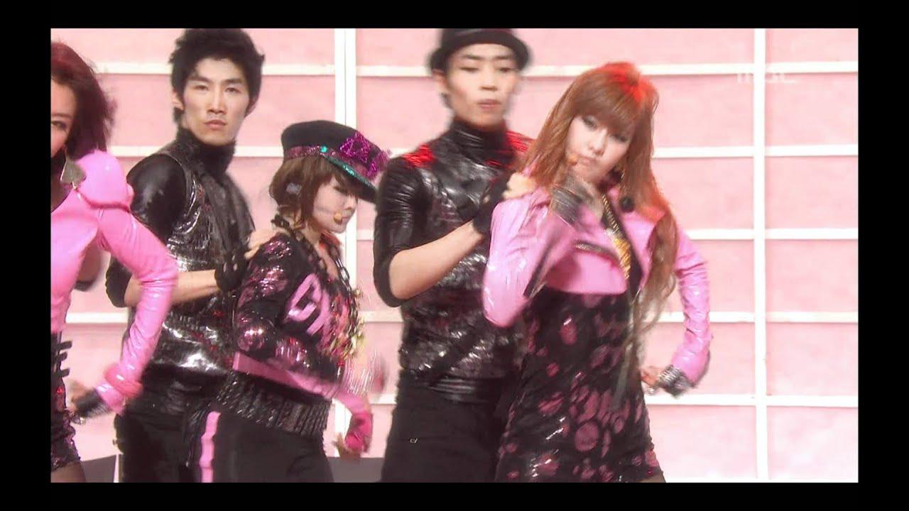Download T-ARA - Crazy because of you, 티아라 - 너 때문에 미쳐, Music Core 20100227