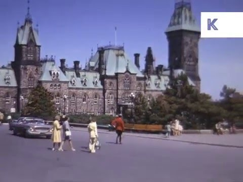 Early 1970s Ottawa, Canada, Colour Home Movies
