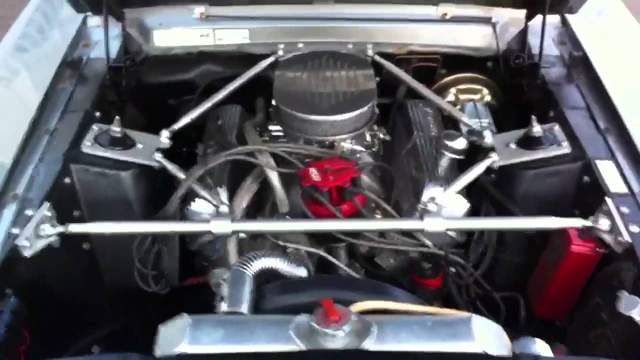 1967 ford mustang shelby GT-500 Eleanor engine bay - YouTube