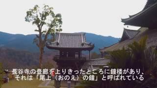 長谷寺の登廊を上りきったところに鐘楼があり、それは「尾上(おのえ)...