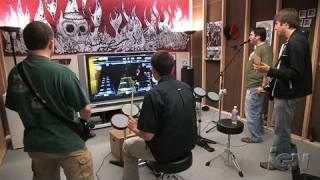 Rock Band (game only) Xbox 360 Gameplay - Band Set: Wave