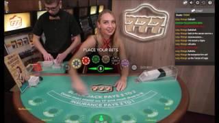 how to tease blackjack dealer and shuffler