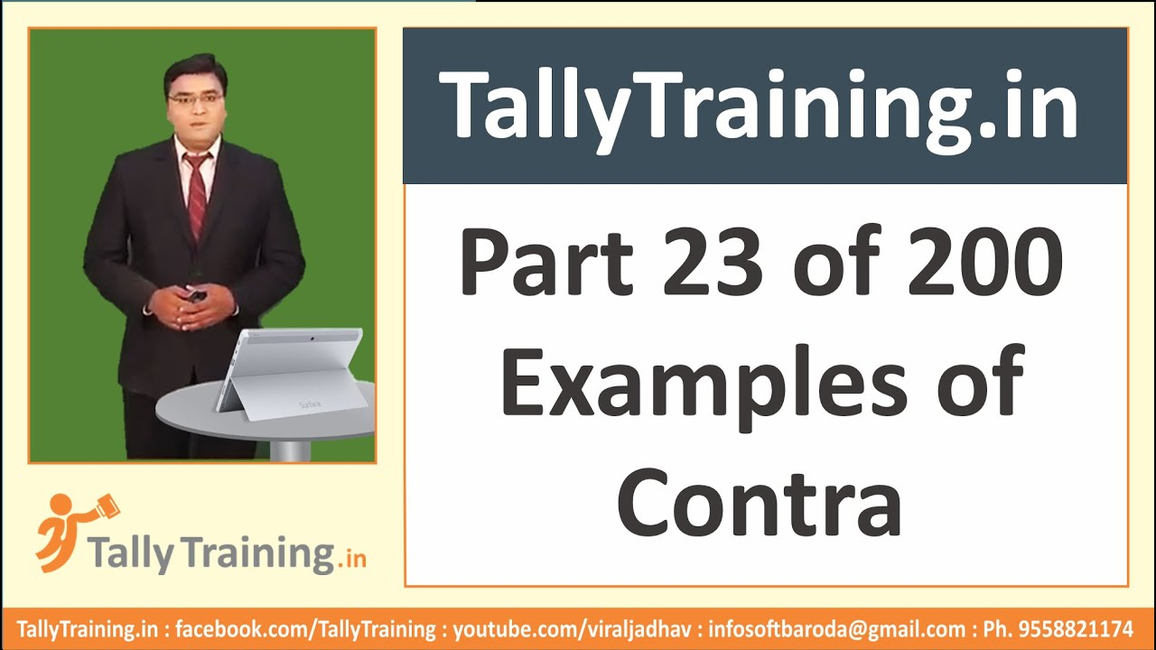 Module 9 session 2 contra voucher example entry in tally erp9 by module 9 session 2 contra voucher example entry in tally erp9 by expert training altavistaventures Gallery