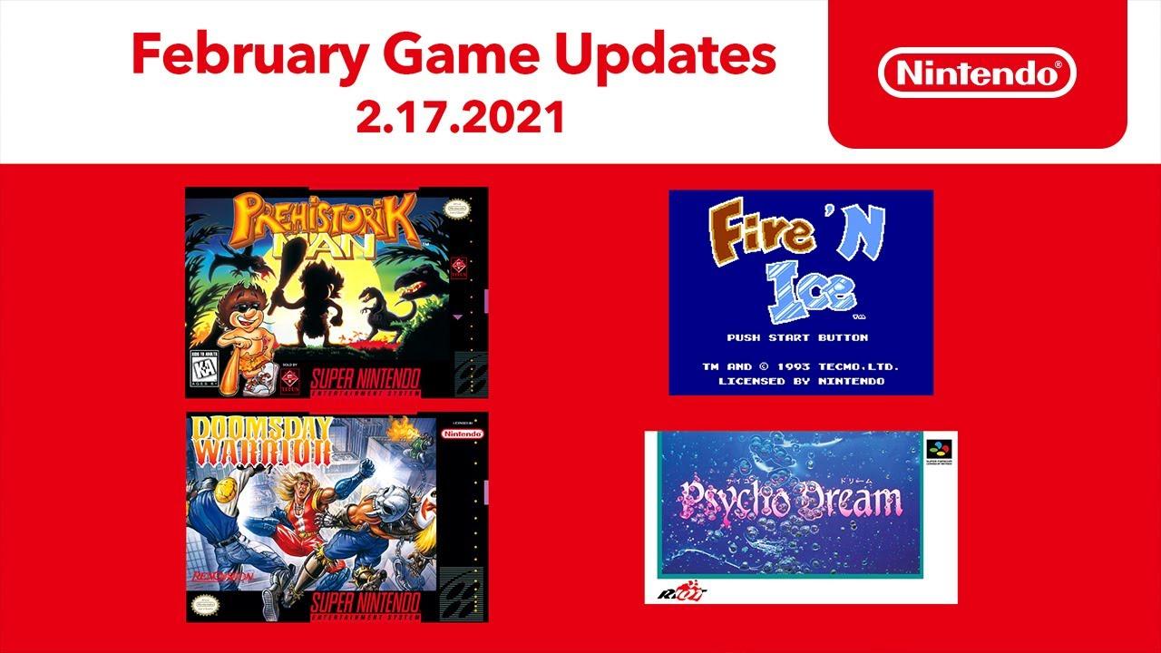 Nuevos juegos de NES & Super NES en febrero | Nintendo Switch Online