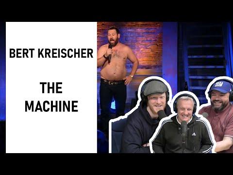 Bert Kreischer - THE MACHINE REACTION!! | OFFICE BLOKES REACT!!