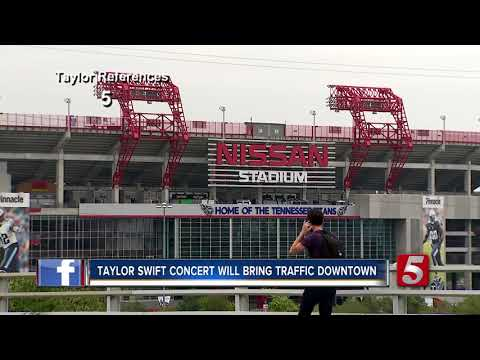 Taylor Swift Concert Will Bring Traffic Downtown