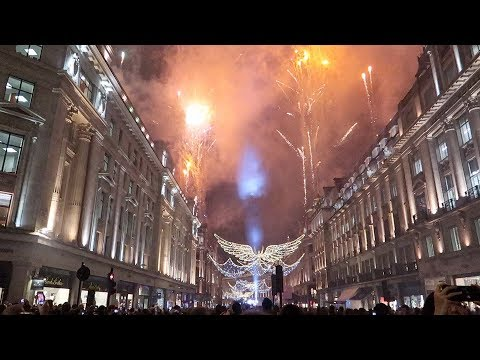 Regent Street Christmas Lights Switch On 2018 London
