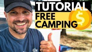 Find Free Camping Nęar Me: TUTORIAL