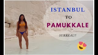 Cotton Castle In Pamukkale | MUST VISIT LOCATION IN TURKEY | Thermal Pools & Entrance Fees - Vlog