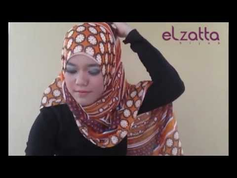 Tutorial hijab by elzatta