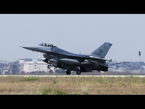 US Fighter jet crashes between DC & Maryland airbase