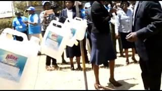 Embu County celebrates Global Handwashing Day 2016