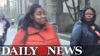 Black Lives Matter activist leaves court after charged with assault of 74-year-old Trump supporter