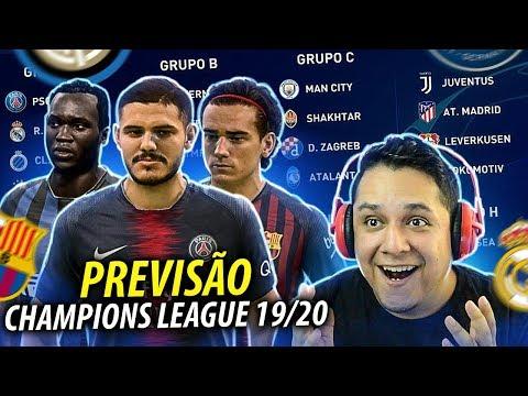 Simulei A CHAMPIONS LEAGUE 2019/20 !! FIFA EXPERIMENTO! 🏆😱