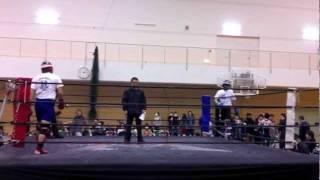 第19回全日本アマチュアシュートボクシング選手権 70kg以下の部 決勝
