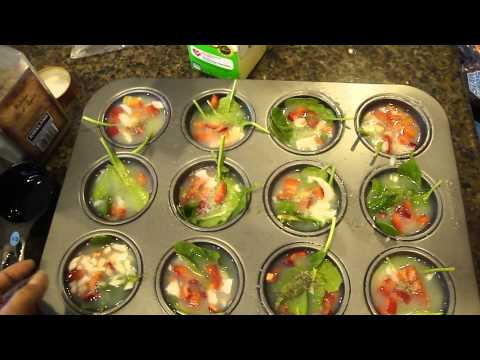 Eat Clean: My Egg White Muffins - YouTube