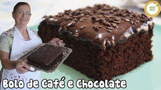 Como fazer um Bolo de Café e Chocolate #276