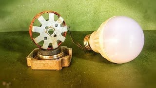 Make Free Energy Electricity Magnet , Amazing Science Technology New Idea