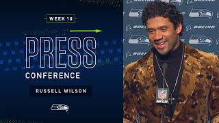 Russell Wilson Postgame Press Conference at 49ers | 2019 Seattle Seahawks