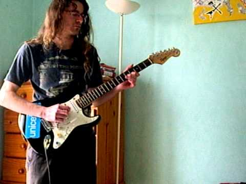 Sailing Rod Stewart Guitar Cover Guitar Solo Improvisation