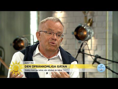 """Om Dödsbäddssyner I Livets Slutskede: """"Den Nya Gemenskapen Gör En Lugn"""" - Nyhetsmorgon (TV4)"""