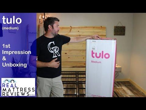 tulo mattress unboxing & 1st Impression