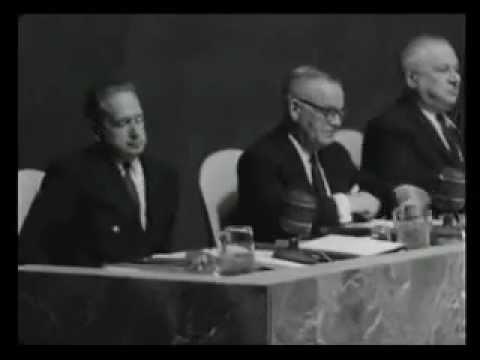 """Dag Hammarskjöld: """"I shall remain in my post!"""" (1960)"""