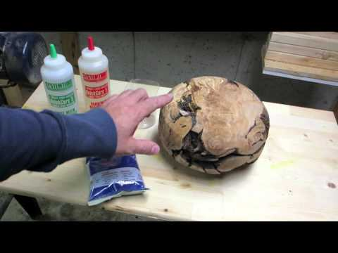Wood turning # 2 planet earth is blue, bowl part #1