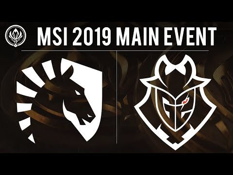 Liquid vs G2 Esports - MSI 2019 Group Stage - TL vs G2