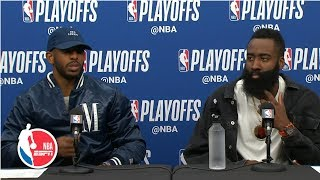 James Harden: Rockets 'had plenty of opportunities' to win Game 4 | 2019 NBA Playoffs