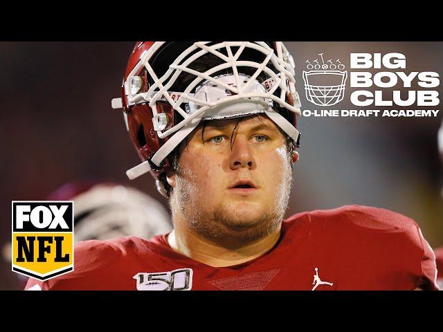 OU's Creed Humphrey's nearly flawless technique | The Big Boys Club | FOX NFL