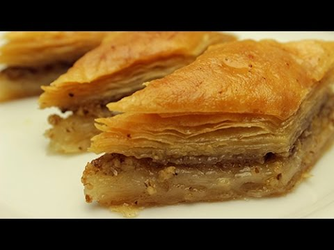Turkish Baklava Recipe - How to make Easy Baklava Dessert - YouTube