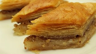 Turkish Baklava Recipe - How to make Easy Baklava Dessert