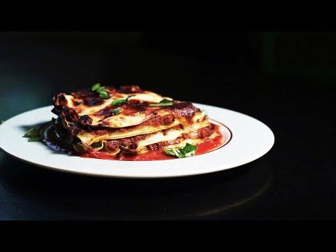 Lasagna with Fresh Pasta, Bolognese and Pecorino Cheese Sauce