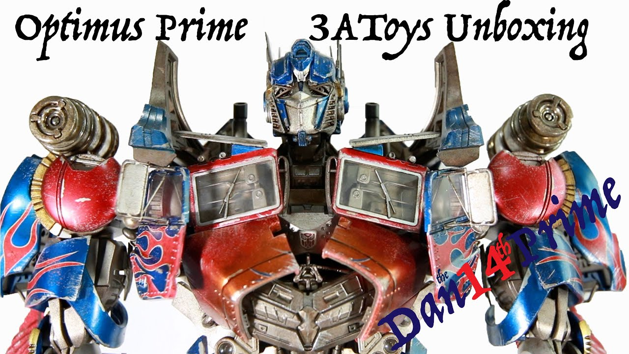Review 3a threea transformers optimus prime dark of the moon dotm - Optimus Prime Transformers 3a Threea Premium Scale Figure Bambaland Exclusive Unboxing And Assembly Youtube