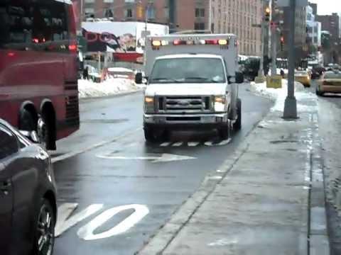 Ambulance In New York - Beth Israel Hospital