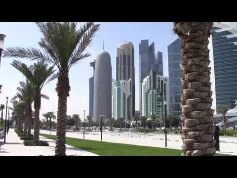 A Walk on Doha's Corniche