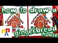 How To Draw A Gingerbread House