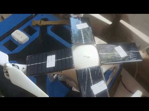 Solar panel on a drone? Would it work?