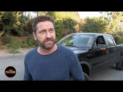 Gerard Butler Talks About Losing his House in the California Fires