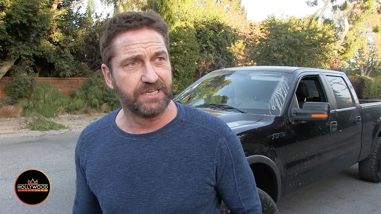 Gerard butler house fire