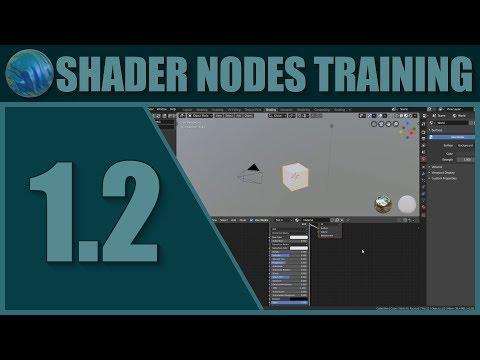 Blender Shader Nodes Training 1.2 - Setup and UI thumbnail