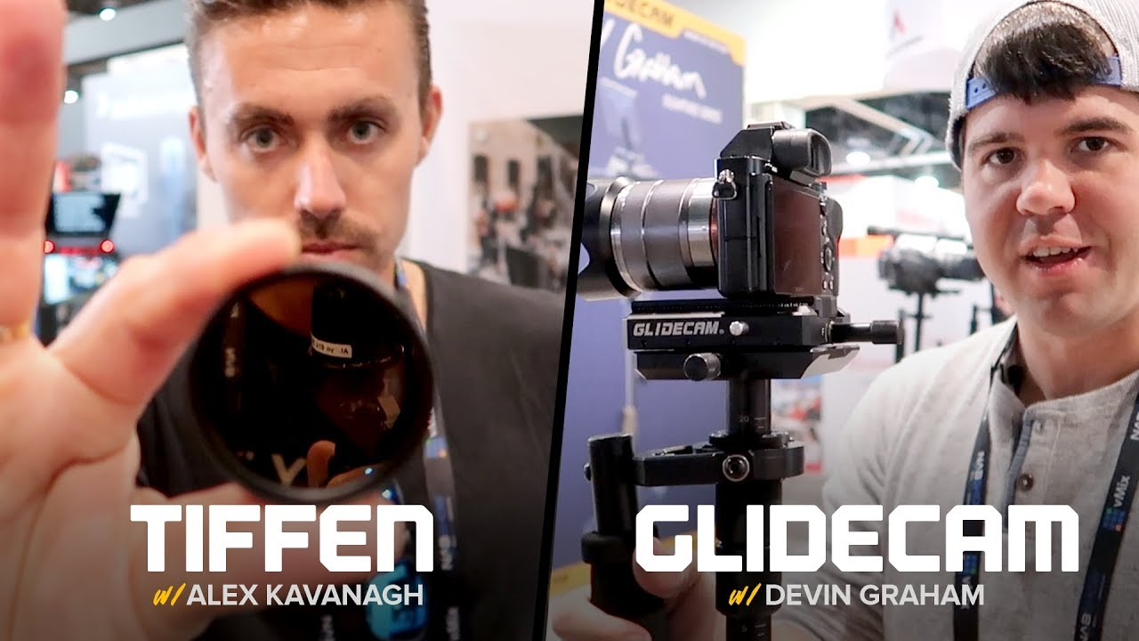 NAB 2018 - Tiffen Drone Filters and Glidecam Camera Stabilizer