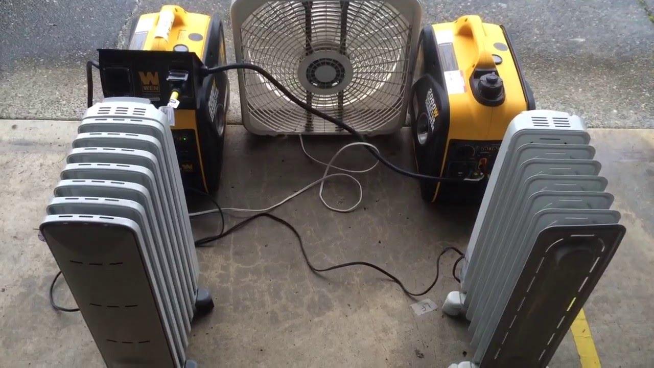 WEN 2000 Watt Generators With 56421 Parallel Connection
