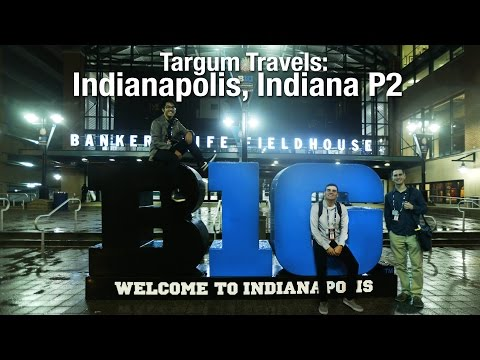 Targum Travels: Indianapolis Part 2- Inside Bankers Life Fieldhouse