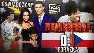 Ronaldo ZARĘCZONY! - Piłkarski NewsBreaf #1
