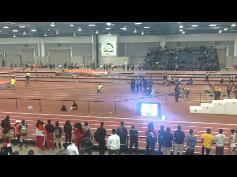 2015 NJCAA Indoor Nationals 4x400m Relay